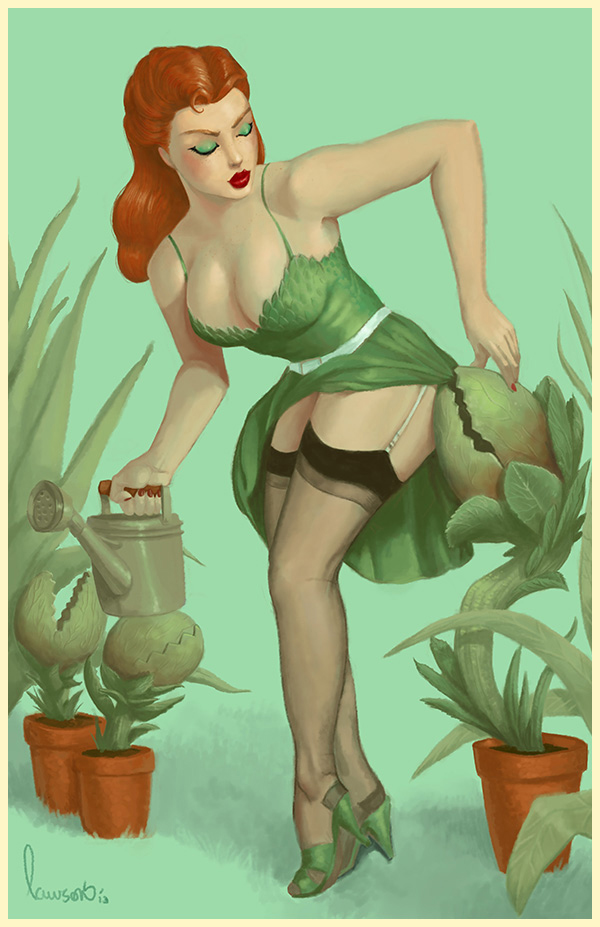 Miss Poison Ivy by Devin Lawson