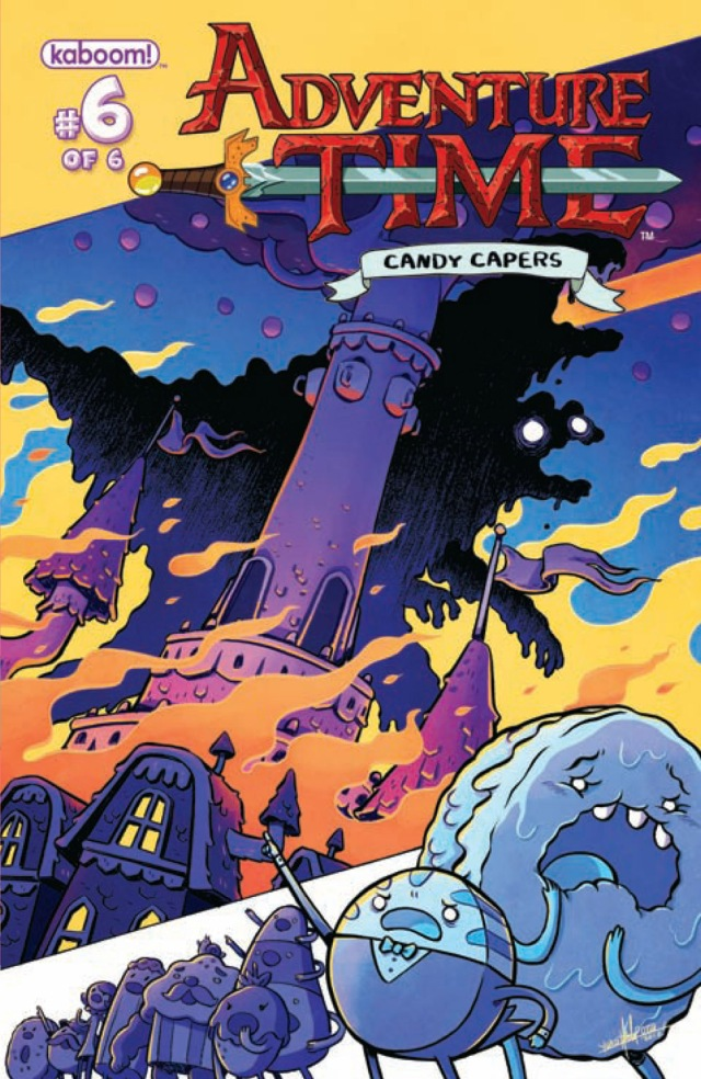 Adventure Time Candy Capers #6 Cover A