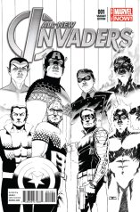 ALL-NEW INVADERS #1 VARIANT B
