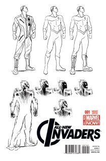 ALL-NEW INVADERS #1 VARIANT D