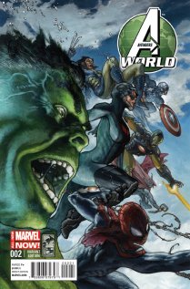 AVENGERS WORLD #2 VARIANT
