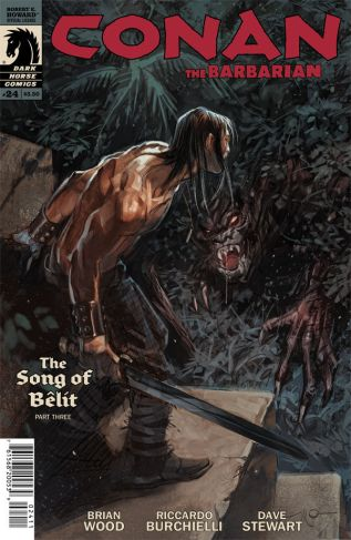 CONAN THE BARBARIAN #24