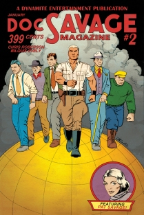 DOC SAVAGE #2 CASSADAY COVER