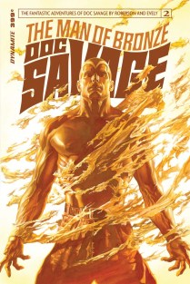DOC SAVAGE #2 ROSS COVER