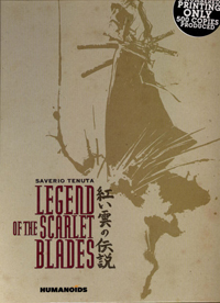 Legend of the Scarlet Blades Deluxe HC