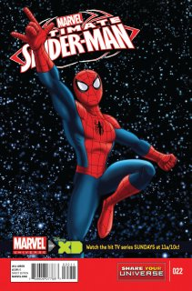 MARVEL UNIVERSE ULTIMATE SPIDER-MAN #22