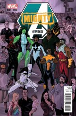 MIGHTY AVENGERS #5 VARIANT