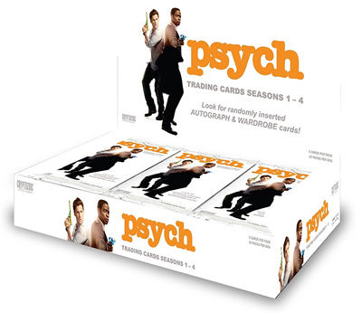 Psych Season 1-4 Trading Cards