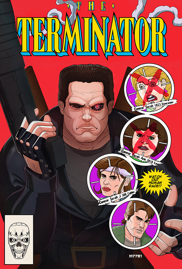 The Terminator by Marco D'Alfonso