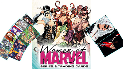 The Women of Marvel Series 2 Trading Cards
