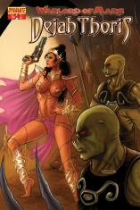 WARLORD OF MARS DEJAH THORIS #34 NEVES COVER
