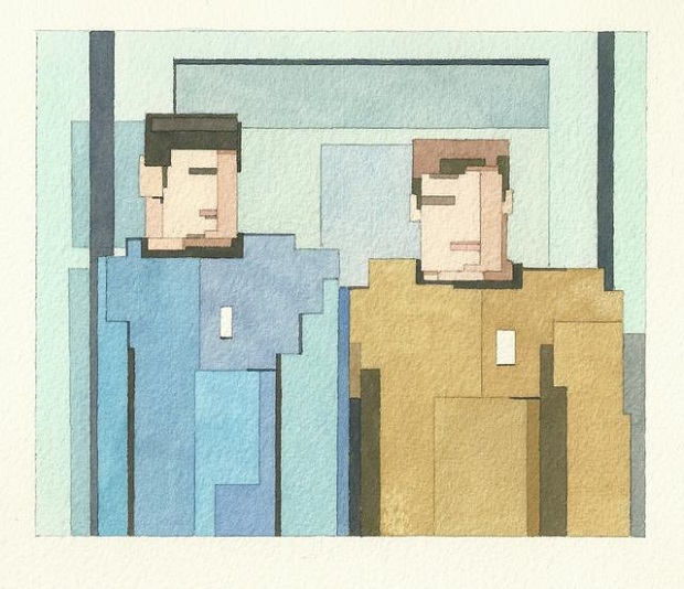 Adam-Lister-Kirk-and-Spock