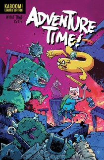 ADVENTURE TIME #25 COVER C