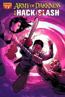 ARMY OF DARKNESS VS HACK SLASH #6 COVER B