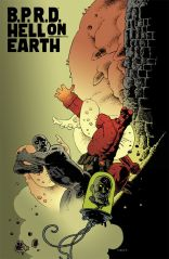 B.P.R.D. HELL ON EARTH #116 CORBEN COVER