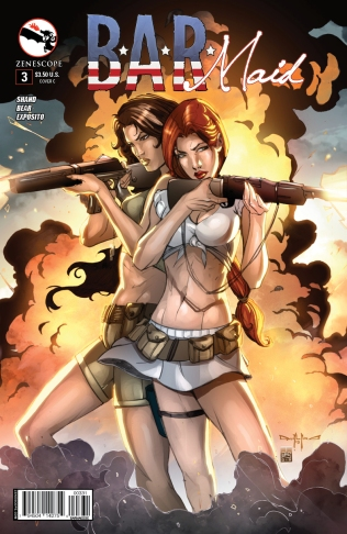 BAR MAID #3 COVER C