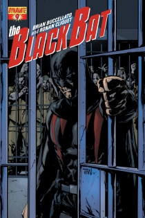 BLACK BAT #9 SUB COVER