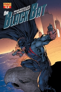 BLACK BAT #9 SYAF COVER