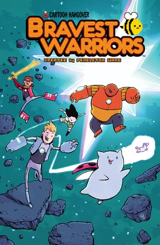 BRAVEST WARRIORS #17 COVER B