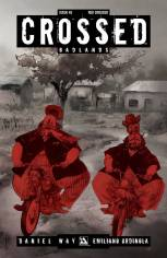 CROSSED BADLANDS #48 RED CROSSED COVER