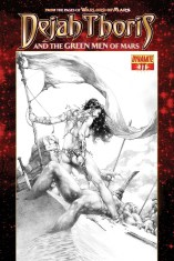 DEJAH THORIS AND THE GREEN MEN OF MARS #11 SUB COVER