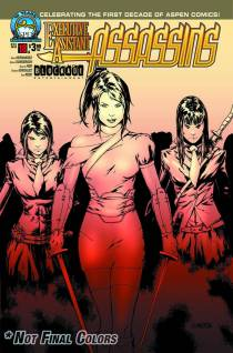 EXECUTIVE ASSISTANT ASSASSINS #18 COVER A