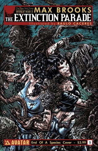EXTINCTION PARADE #5 END OF SPECIES COVER