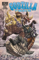 GODZILLA RULERS OF EARTH #9