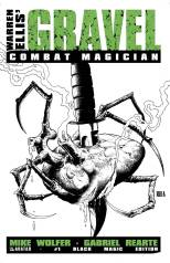 GRAVEL COMBAT MAGICIAN #1 BLACK MAGIC COVER