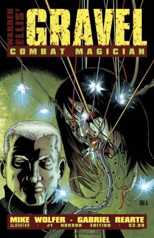 GRAVEL COMBAT MAGICIAN #1 HORROR COVER