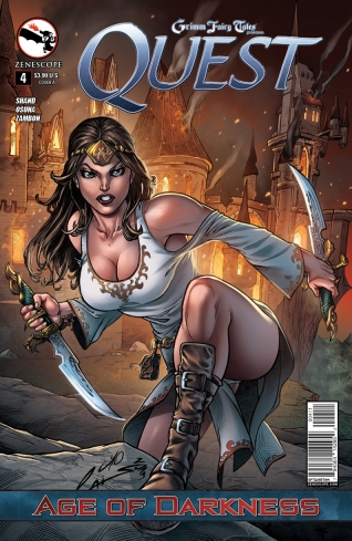 GRIMM FAIRY TALES QUEST #4 COVER A