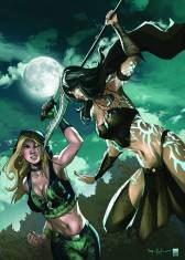 GRIMM FAIRY TALES ROBYN HOOD AGE OF DARKNESS #1 COVER D