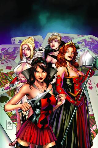 GRIMM FAIRY TALES WONDERLAND CLASH OF QUEENS #1 COVER A