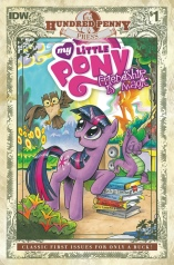 MY LITTLE PONY FRIENDSHIP IS MAGIC #1 HUNDRED PENNY PRESS