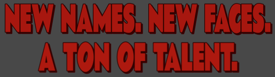New Names Banner