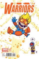 NEW WARRIORS #1 VARIANT C