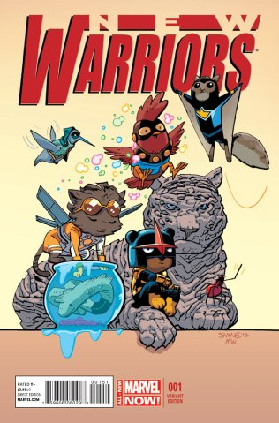 NEW WARRIORS #1 VARIANT D