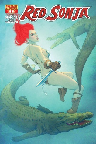 RED SONJA #7 FRISON COVER