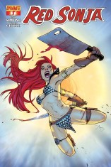 RED SONJA #7 REEDER COVER