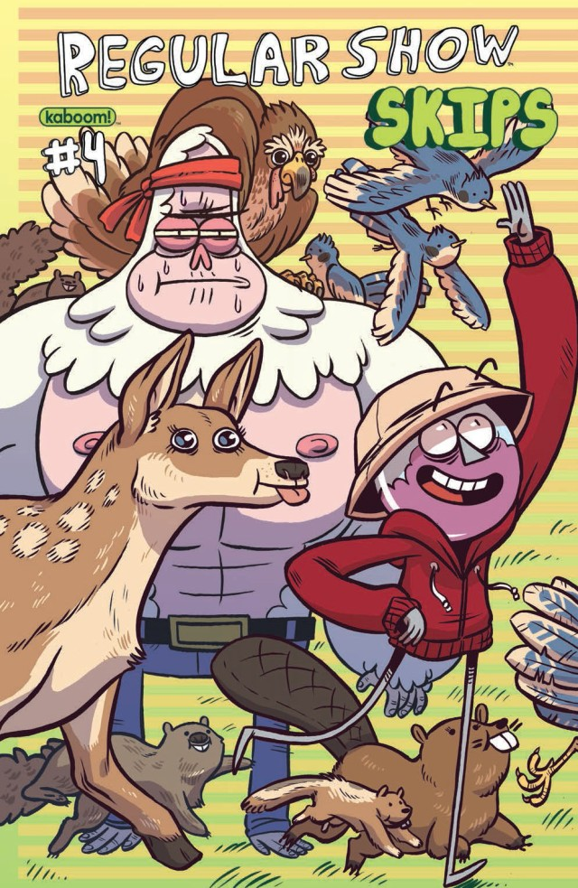 Regular Show Skips #4 Cover A