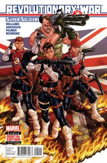 REVOLUTIONARY WAR SUPER SOLDIERS #1