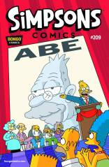 SIMPSONS COMICS #209
