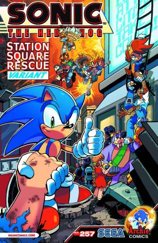 SONIC THE HEDGEHOG #257