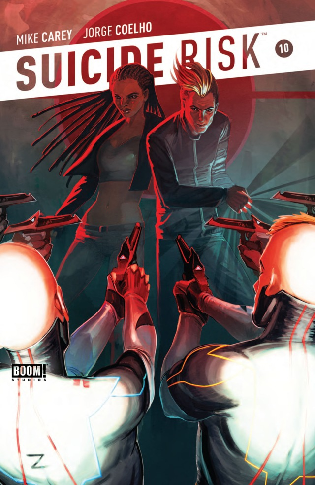 Suicide Risk #10 Cover