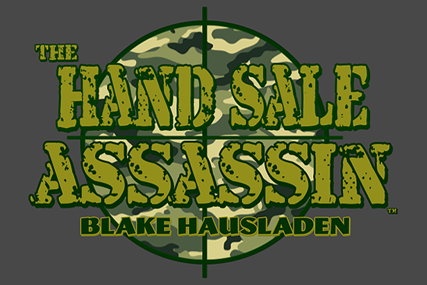 THE HAND SALE ASSASSIN COLUMN PAGE LOGO