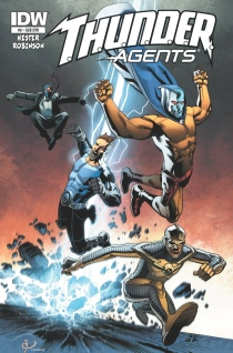 THUNDER AGENTS #6 SUB COVER