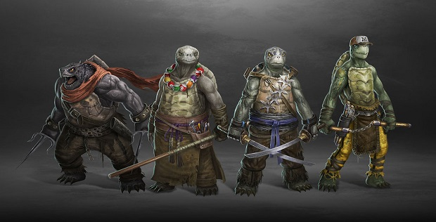 TMNT Redesign by Ancorgil