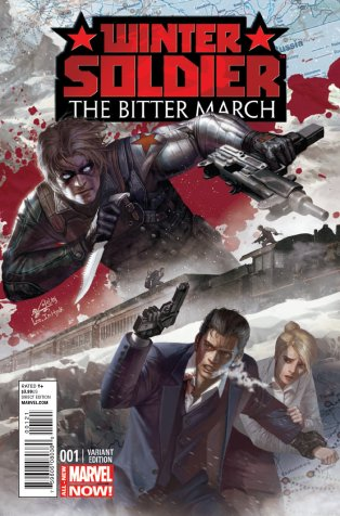 WINTER SOLDIER THE BITTER MARCH #1 VARIANT A
