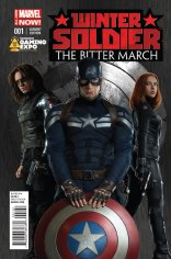 WINTER SOLDIER THE BITTER MARCH #1 VARIANT C