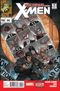 WOLVERINE AND THE X-MEN #42